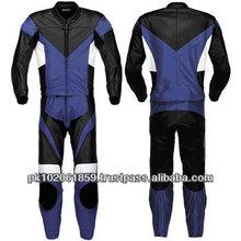 Latest One Piece genuine leather motorbike racing suit, customized size men Leather motorbike suit