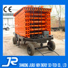 18m max height heavy duty scissor lift for out working