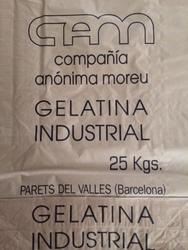 Technical gelatin in powder