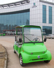 China manufacturer electric car for tourist 4 seater electric sightseeing bus made by Dongfeng Motor