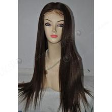 natural scalp full silk cap lace wig