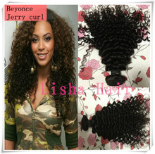 new arrival !!! raw unprocessed brazilian afro jerry curl hair weaves weaving weft virgin remy human hair extensions