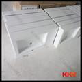 kingkonree novo design de superfície contínua acrílica pedra bacia lavandaria