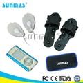 sunmas sm9168 перезаряёаемые электронный стимулятор мышц электрический массажер ног