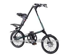 STRIDA SX Folding Bike (Matt Black)