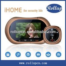 Person infrared detection door viewer,electronic door camera,alarm doorbells