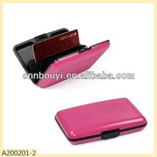 2014 hot sale plastic card wallet