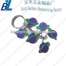 Mini basketball shaped smart key chain for kids