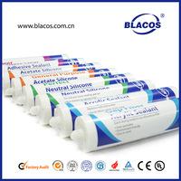 High Quality Broad Adheison Fast Curing 100% Rtv Silicon Mastic