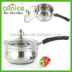 Popular milk pan/sauce pan/single handle pan