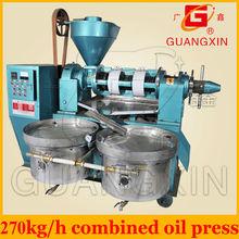 270kg per hour big capacity combined automatic mustard oil machine
