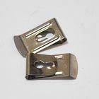Custom steel metal measuring tool belt clip use for measuring tape