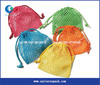 Colorful small mesh gift bags