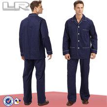 Family Wholesale Men's Long Sleeve Cheap Pajamas Set