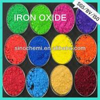 Inorganic iron oxide pigment fe2o3 iron oxide color
