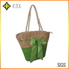 fashional butterfly knot wholesale straw bags for shopping