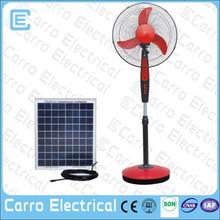 new style 12v fan battery 35w portable solar fan