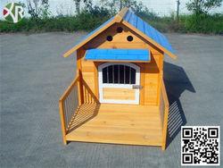 dog kennel with veranda XD 014