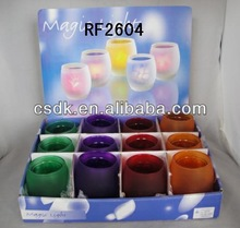 Wholesale cheap murano glass chandelier glass candle holders for weddings