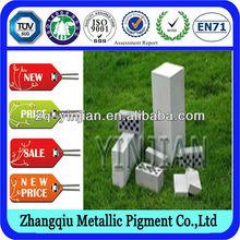 high purity metallic pigment price ! AAC autoclaved aerated concrete block aluminium powder ZL-201W-B04