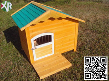 Outdoor Pet Products Dog Club Wooden House pets cage XD 013