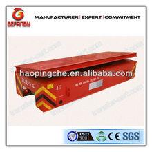 Custom steel pipe handling vehicle dumping platform