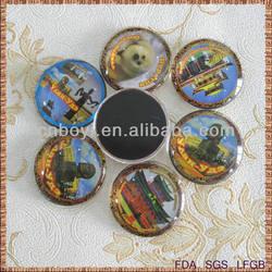 Promotinal gift fridge magnet souvenirs, 2014 advance design metal fridge magnet