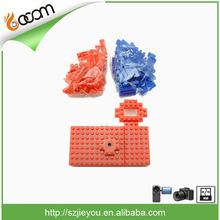 5MP 720P DIY Nano Block USB Mini Novelty Camera