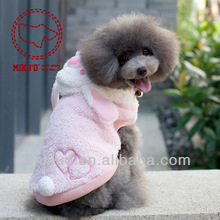 Dogs pets clothing and clothes Cute Fleece Lovely Wings Dog Cat Pet Costume Apparel Clothes Coat