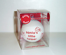 acetate box transparent packaging PVC Carton Santa