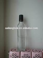 hot sale olive oil bottle clear glass 500ml olive oil glass bottle