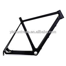 2014 YISHUNBIKE the latest styles 54cm carbon road disc frameset BB30 & BSA road bike carbon frame