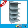 Mejor diseño común 5 capas de metal supermercado estantes/flexible estante de metal