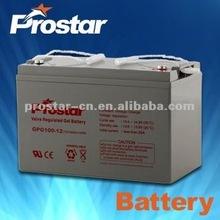 12V 100Ah Solar Gel Battery Rechargeable Storage Batteries