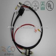 HID Bi xenon wiring harness for bi xenon projector lens car headlight