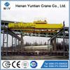 Double Girder Overhead Magnetic Crane For Handling Steel Plates