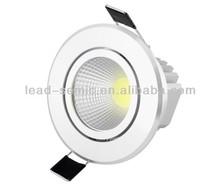 COB 75mm 5 watt led downlight dimmable