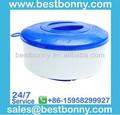 "Equipos de piscina, de diámetro. 7"" plegable dispensador químico para 3"" tabletas, alimentador de química"
