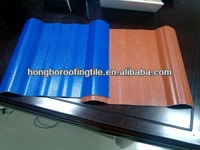 ASA coated pvc roofing tile 3 layer