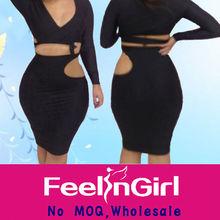 2014 sexy celebrity bandage bodycon dress wholesale