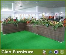 rattan raw material flower pot wholesale