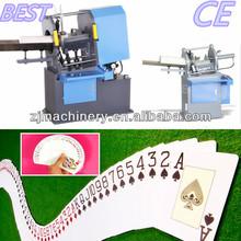 poker card cutting machine