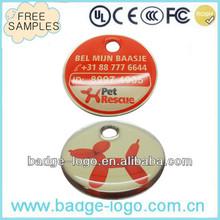 custom metal id pet tags for dogs