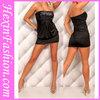 Wholesale Sexy Girls Black Short Evening Dress 2013