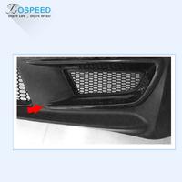 JS RACING Carbon Fiber Front Bumper Air Vent for HONDA CIVIC FD2