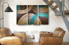 2014 classical Multi-Panel abstract Painting on Canvas,assemble picture