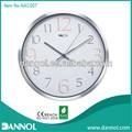 """12 """" guangzhou ideias de negócio de comércio relógio de parede de Metal"""