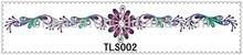 TLS002 Jewelry Bracelet Tattoo Stickers /Safe Temporary temporary tattoo jewelry