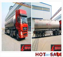 50 CBM Aluminum alloy oil tank semi trailer fuel tanker LPG LNG tank