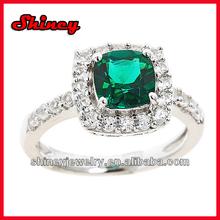 2014 fashion fine jewelry emerald ring